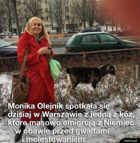 Monika na spotkaniu