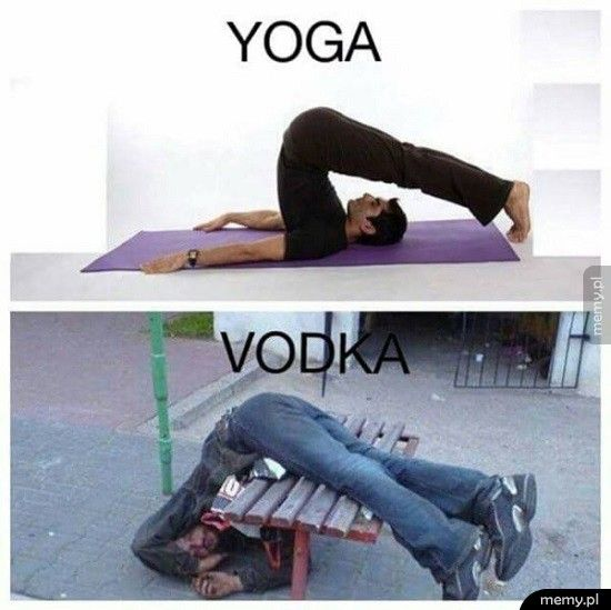 Joga vs Wódka