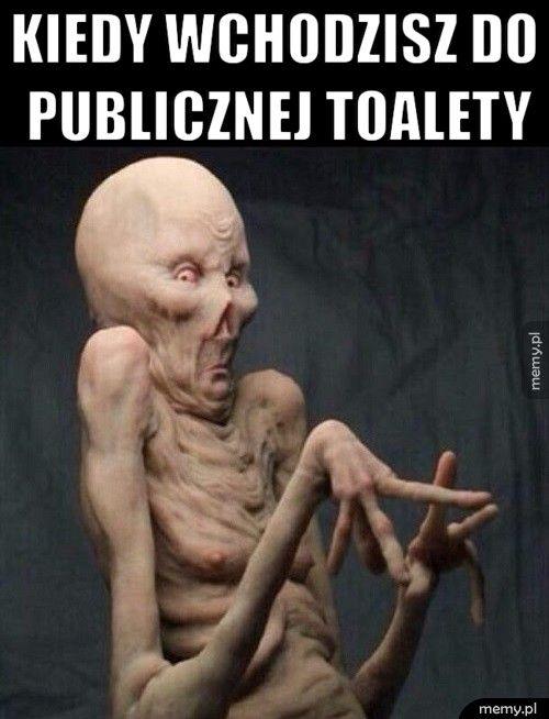 Kiedy wchodzisz do                   publiczne