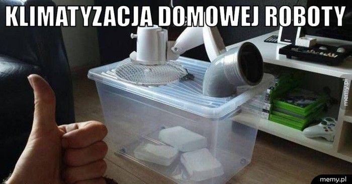 Klimatyzacja domowej roboty
