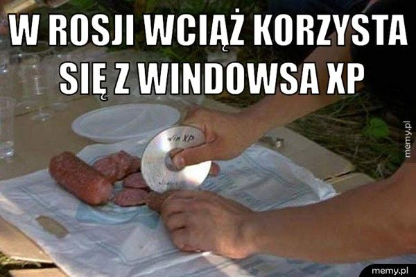 W Rosji wciąż korzysta się z Windowsa XP.