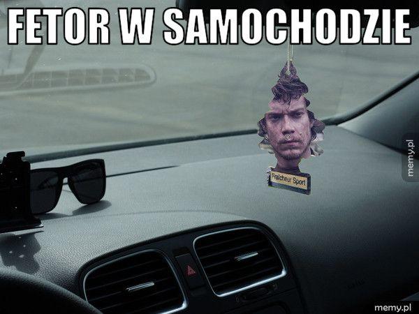 Fetor w samochodzie