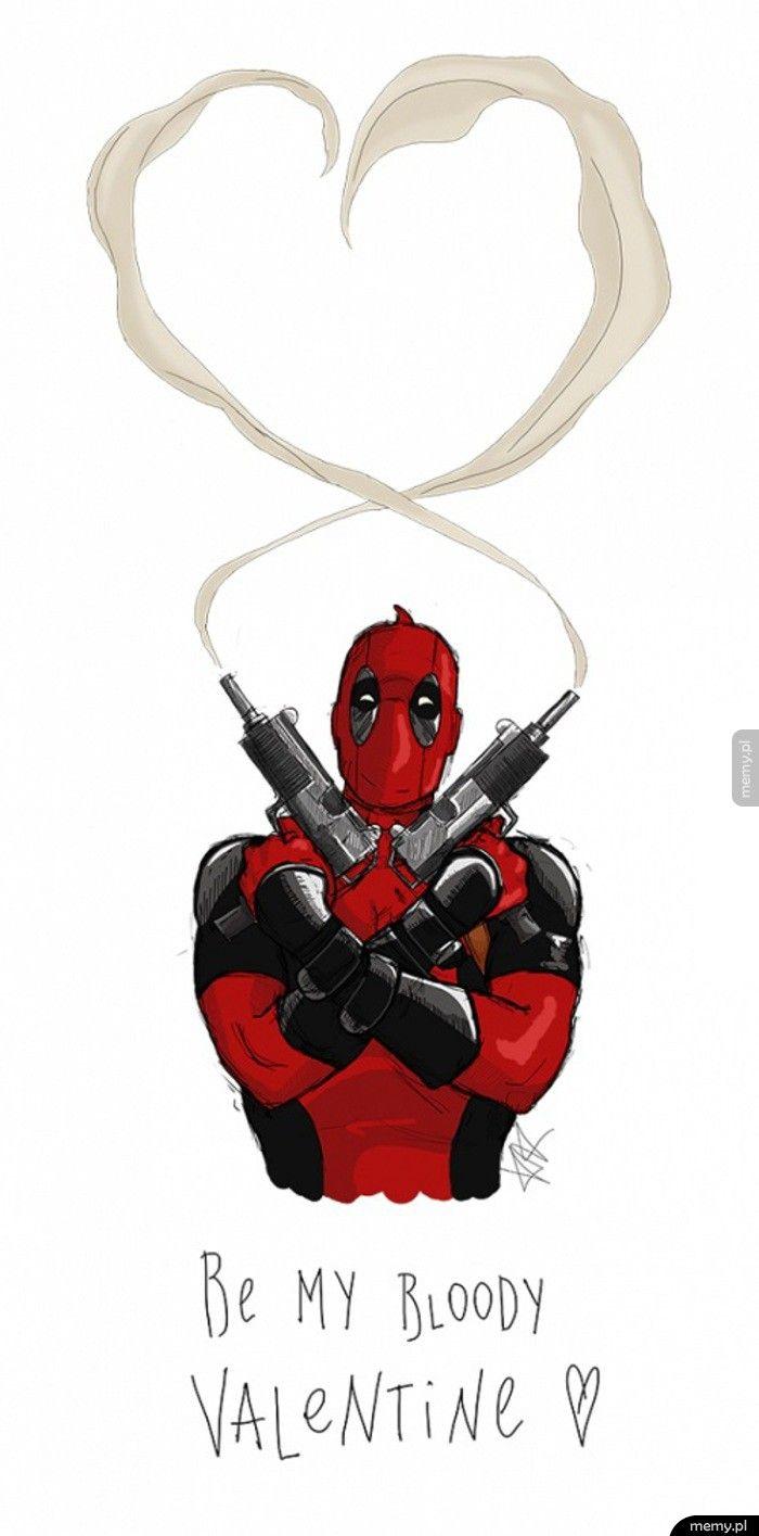 Deadpoolowe Walentynki