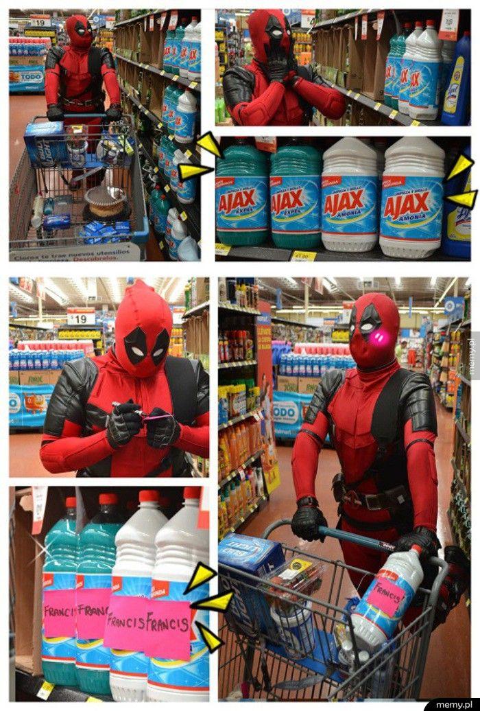 Deadpool na zakupach