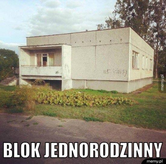 Blok jednorodzinny