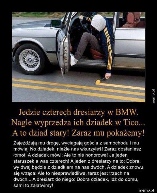 Dresiarze w BMW
