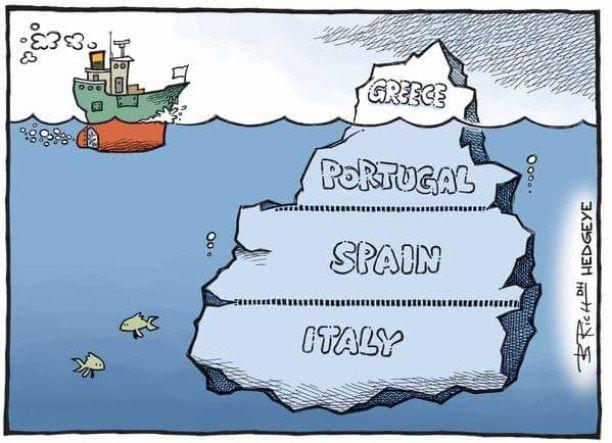 Grecja to tylko wierzchołek góry lodowej