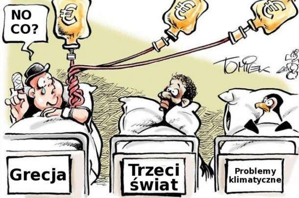 Pomoc dla Grecji.