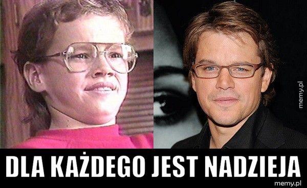 Matt Damon w młodości