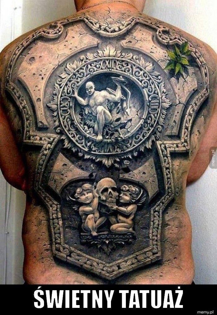 Świetny tatuaż