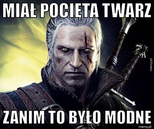 Geralt z Rivii.