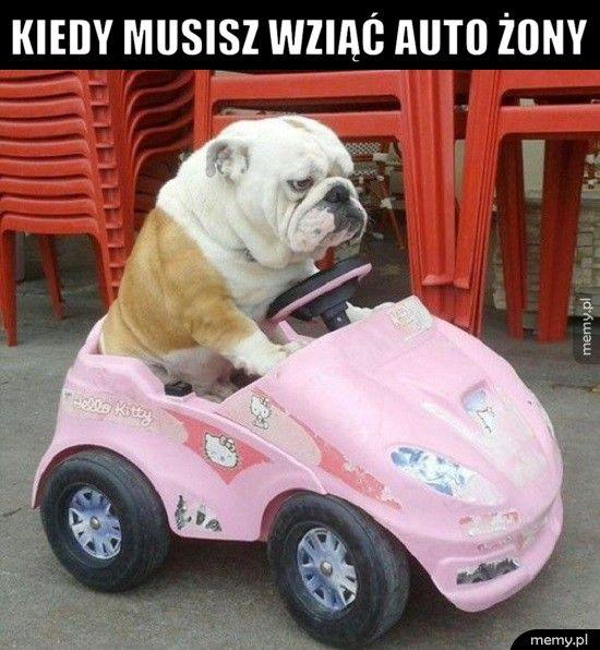 Kiedy musisz wziąć auto żony