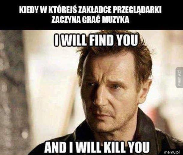 Znajdę cię!