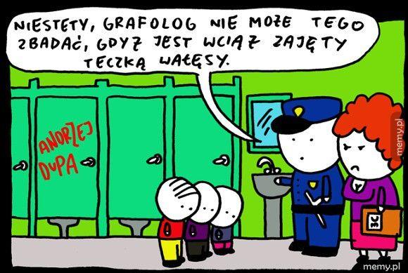 Grafolog