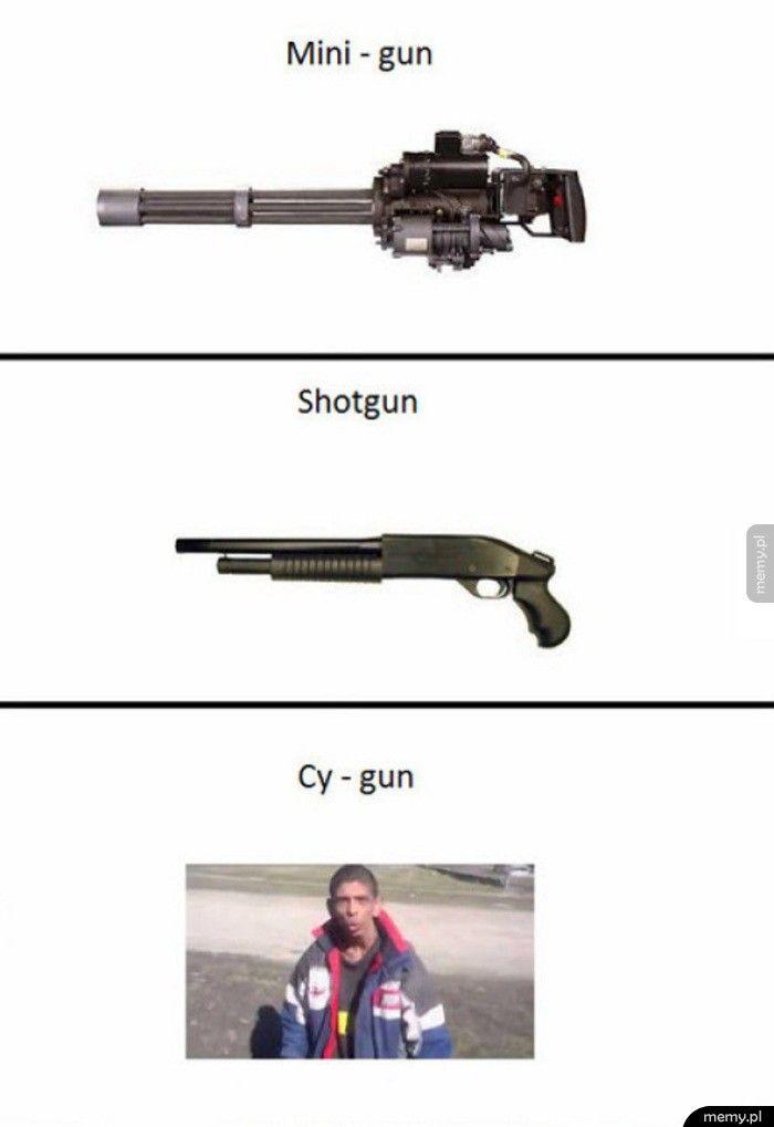 Rodzaje broni