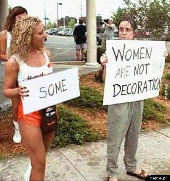 Kiedy nie jesteś feministką