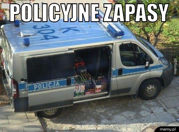 Policyjne zapasy