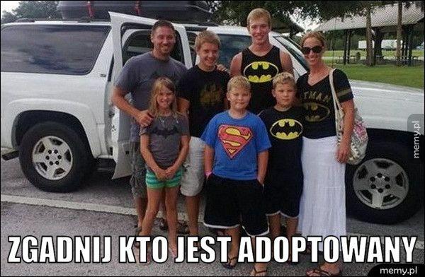 Zgadnij kto jest adoptowany