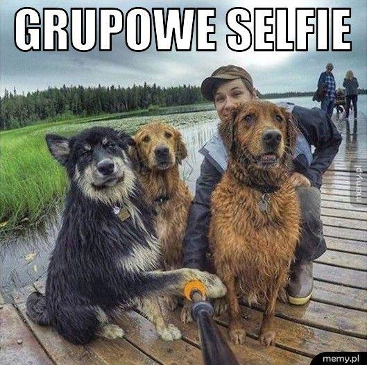 Grupowe selfie