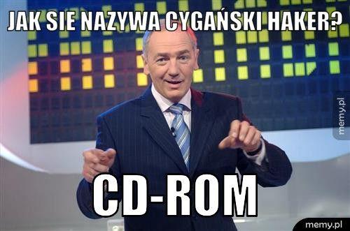 Jak sie nazywa cygański haker? CD-ROM