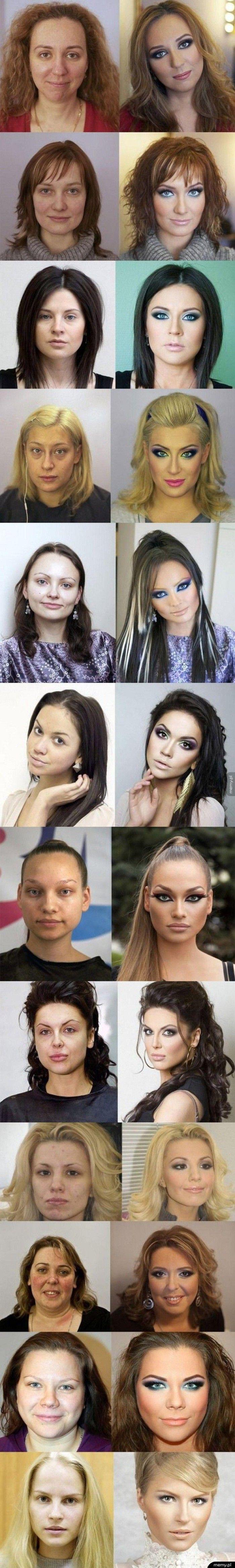 Potęga makijażu
