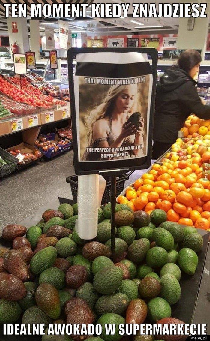 Ten moment kiedy znajdziesz Idealne awokado w supermarkecie
