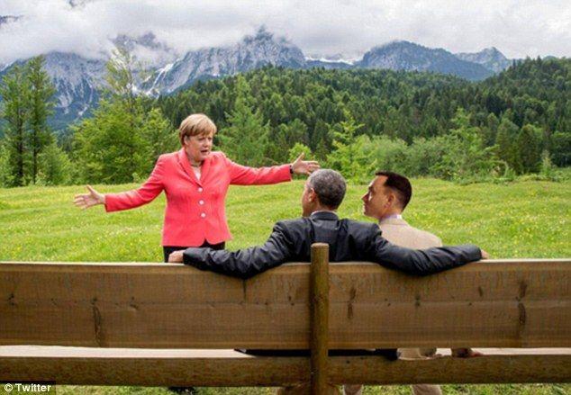 Merkel, Obama i Forrest Gump