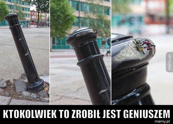 Ktokolwiek to zrobił jest geniuszem