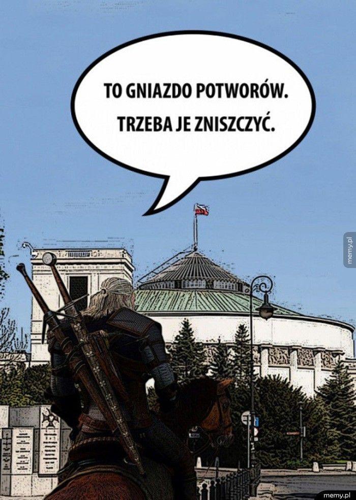 Niszcz Geralt, niszcz!
