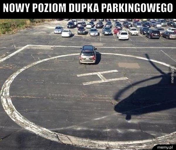 Nowy poziom dupka parkingowego