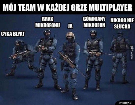 Mój team