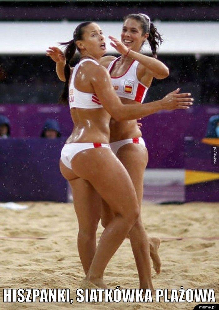 Hiszpanki, siatkówka plażowa