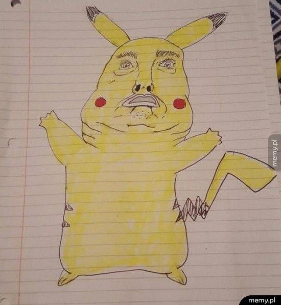 Poprosił w pizzeri o rysunek Pikachu do zamówienia. To znalazł w woreczku z sosami.