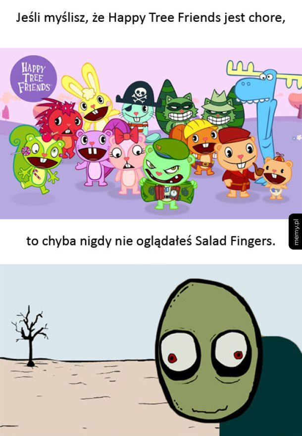 HTF vs Salad Fingers