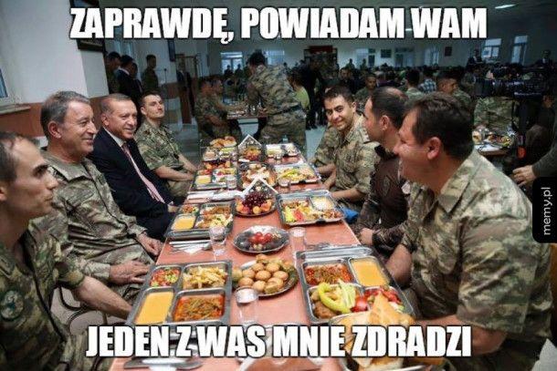 Erdogan do żołnierzy