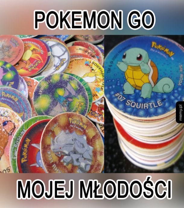 Pokemon GO moich czasów