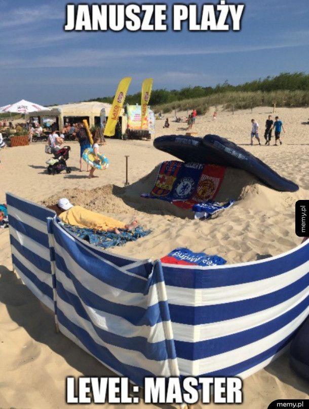 Janusze plaży