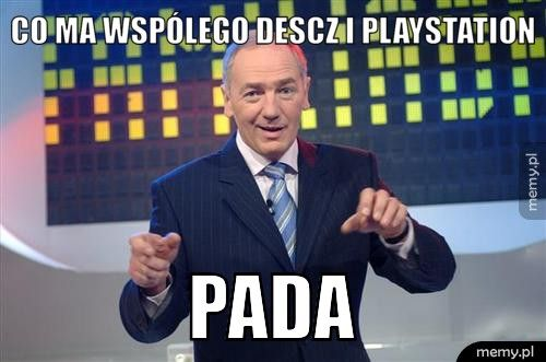 Co ma wspólego descz i playstation pada