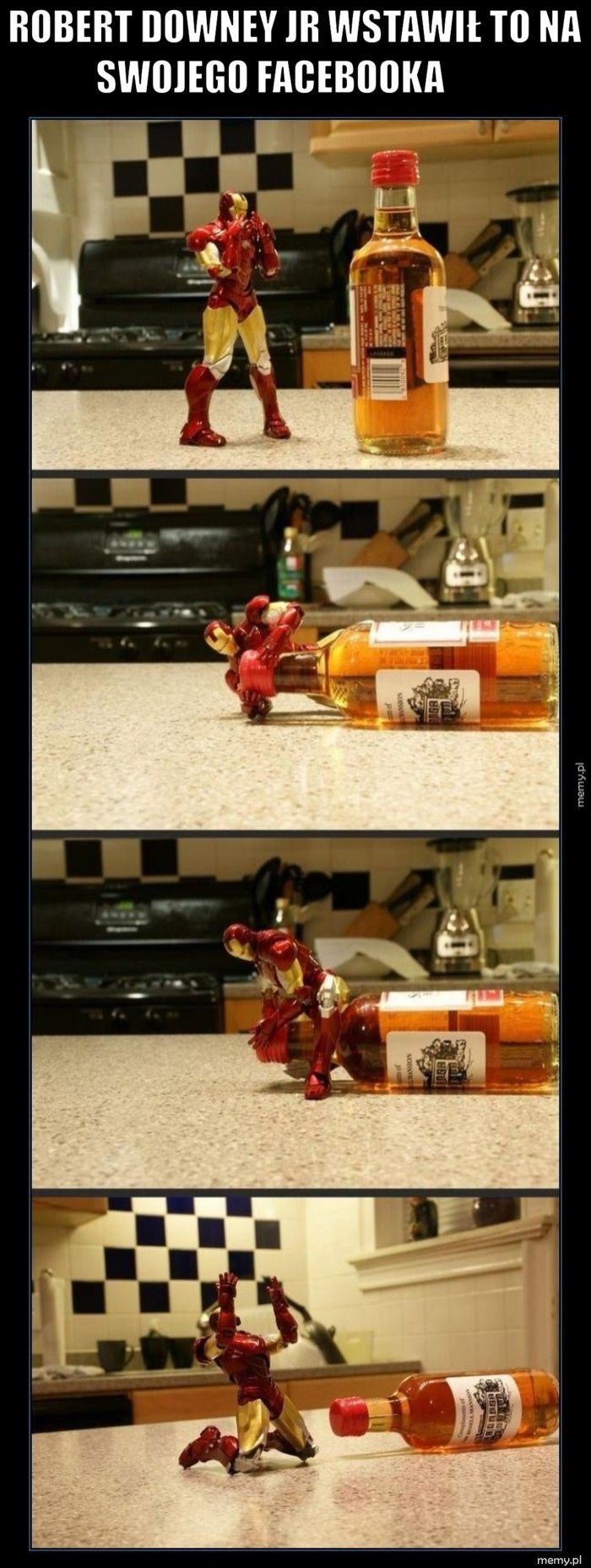 Robert Downey Jr wstawił to na swojego facebooka