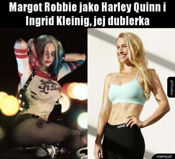 Dwie twarze Harley Quinn