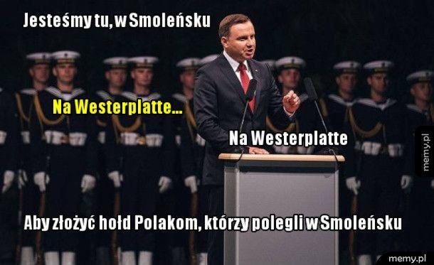 Apel smoleński na Westerplatte