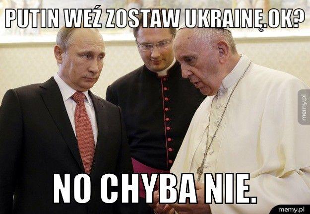 Spotkanie papieża Franciszka z Putinem