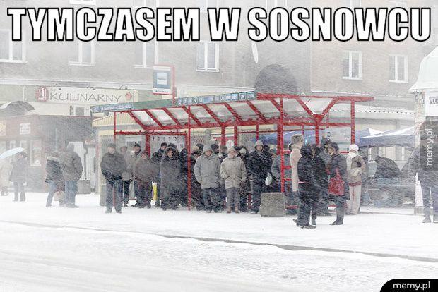 Tymczasem w Sosnowcu