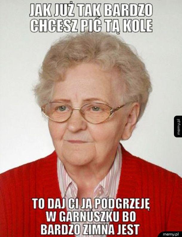 Troskliwa babcia