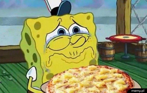 Kiedy znajomi hejtują pizze hawajską
