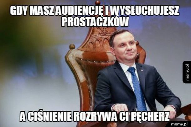 Audiencja u Andrzeja Dudy
