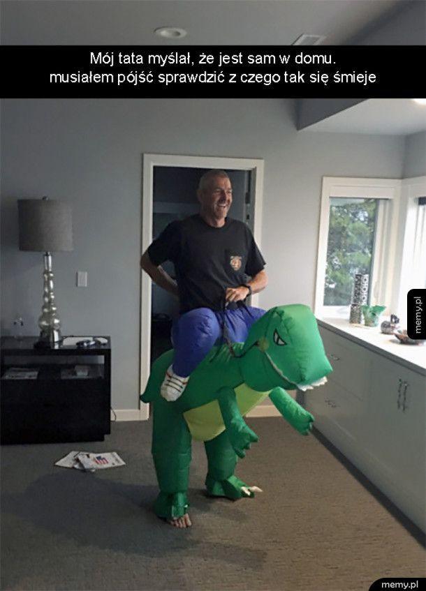 Kiedy tata zostaje sam w domu