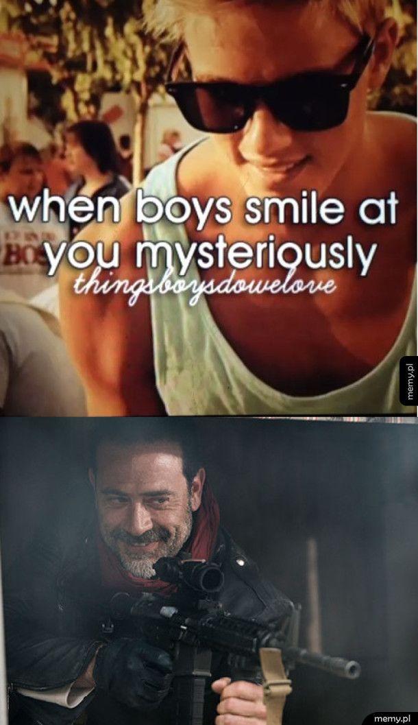 Tajemniczy uśmiech