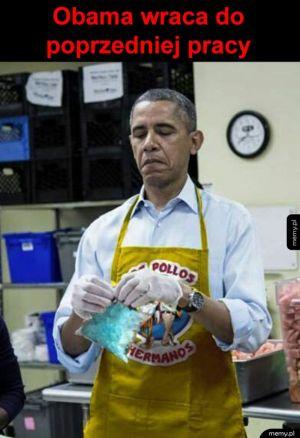Obama wraca