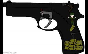 Jak dzia pistolet